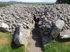 Corrimony Cairn - 4000 years old, Drumnadrochit, United Kingdom