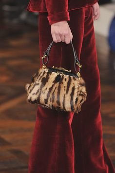 Ralph Lauren for fall...so gorgeous--digging the red velvet and the bag