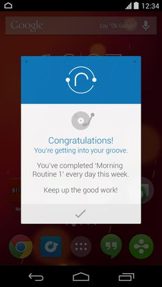 Android Popup UI by Tim Green, via Behance