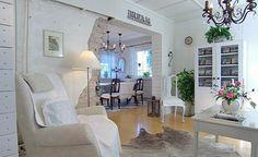 Lovely white home