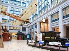 The Smithsonian National Postal Museum is devoted to history of U.S. mail service.