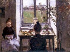 artemisdreaming:  Kwiaciarki, 1899, National Museum, Kraków Olga Boznanska (Polish, 1865–1940)