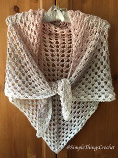 crochet-triangle-shawl-pattern-granny-triangle-shawl-womens-crochet-wrap-crochet-scarf-bridal-shawl-pattern-crochet-cowl-pattern/ delivers online tools that help you to stay in control of your personal information and protect your online privacy. Crochet Mittens Free Pattern, Crochet Shawl Free, Crochet Shawls And Wraps, Crochet Scarves, Crochet Patterns, Crochet Hats, Crochet Ideas, Crochet Edgings, Crochet Shirt