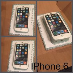 iPhone 6 Cake Pinterest Cake Birthday cakes and Bakeries