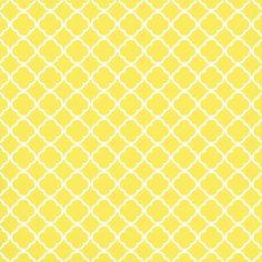 (and some colour therapy printables) Tile Patterns, Print Patterns, Yellow Tile, Yellow Print, Digital Paper Free, Decoupage, Iris Folding, Quatrefoil, Printable Paper