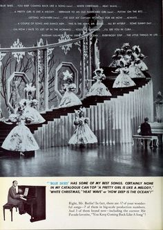See Fred Astaire Puttin' On The Ritz in the Irving Berlin 1946 musical movie 'Blue Skies' Irving Berlin, Fred Astaire, Blue Skies, Vintage Movies, Musicals, Sky, Statue, Film, Board