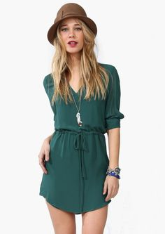 Love this, though I'd definitely wear it as a top instead of a dress!