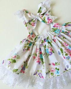 Floral Spring Baby Dress