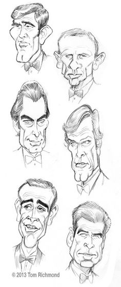 """In honor of the 50th anniversary of the first James Bond film, """"Dr. No"""" in 1962, here are small studies of each of the actors to officially (i.e. star in an EON Production) play 007 in …"""
