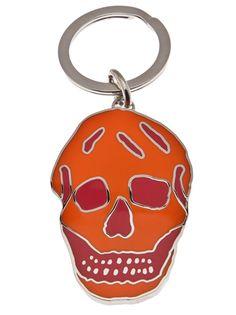 $115 ALEXANDER MCQUEEN - Skull key ring 4