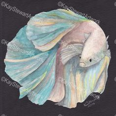 Fish Fish, Pets, Gallery, Artwork, Animals, Painting, Animals And Pets, Art Work, Animales