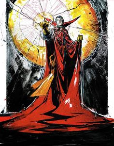 Doctor Strange by Riley Rossmo Marvel Doctor Strange, Doc Strange, Strange Art, Marvel Art, Marvel Heroes, Marvel Characters, Fictional Characters, Dc Comics, Anime Comics