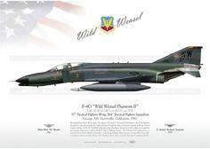 "F-4G ""Phantom II / Wild Weasel"" 37TFW LW-03 - AviationGraphic.com"