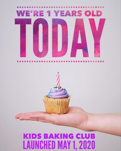 We are celebrating one year in business as the virtual baking club and baking kit company that is creating a movement of teaching kids valuable life skills and they're having a tons of fun!