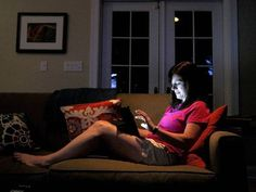 iPad insomnia: Sleep loss linked to blue light from screens used at night. American Medical Association recognizes problem with tablets and e-readers