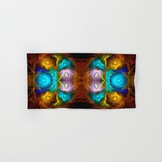 Everything in motion, colourful abstract Hand & Bath Towel