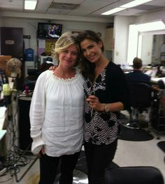 Mary Beth Evans and Kristian Alfonso #DAYSOFOURLIVES #dool
