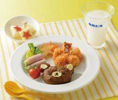 #rilakkuma set meal