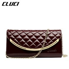 ff5fa0c7ac81 CLUCI Plaid Women Messenger Bags Genuine Leather Women s Shoulder Bag  Crossbody Bags Famous Brand Ladies Handbags
