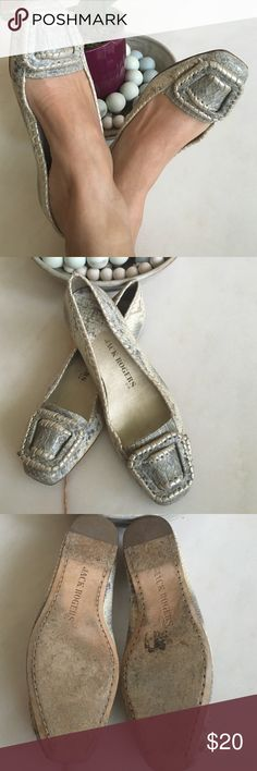 Jack Rogers faux snack skin loafers •Faux snake skin loafers •Whip stitch detail •Signs of wear on the sole only •perfect closed toe shoe for summer •Size 7 but fits like a true 7.5 Jack Rogers Shoes Flats & Loafers
