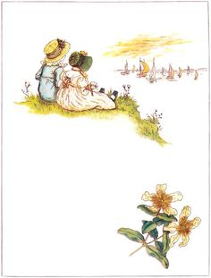 When You and I Grow Up - Marigold Garden, 1885. Kate Greenaway