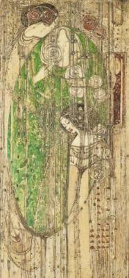 Gesso panel from Willow Tearooms Glasgow entitled 'O ye, all ye that walk in Willowood' by Margaret MacDonald Mackintosh (Scottish 1864 Glasgow Girls, Glasgow School Of Art, Charles Rennie Mackintosh, Art Nouveau, William Morris, Glasgow Museum, Willow Wood, Street Art, Art Sculpture