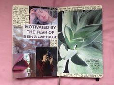 I started a visual diary today (all photos here... / Beth Mellett