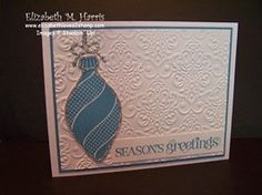Sparkly Keepsakes Ornament by FLMommyof2 - Cards and Paper Crafts at Splitcoaststampers