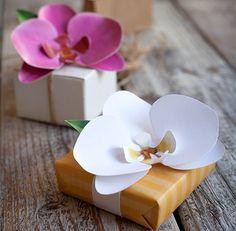 IL GIARDINO DEI SOGNI: fai da te di carta orchidea