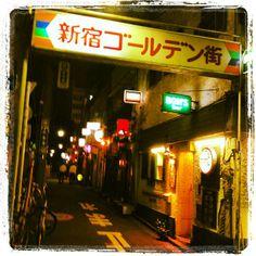 新宿ゴールデン街 (Shinjuku Golden Gai)