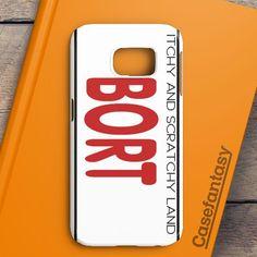Bort License Plate Cover Samsung Galaxy S6 Edge Case | casefantasy