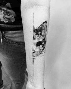 55 tatuagens para encantar e inspirar quem ama gatos