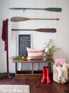 "Classic Christmas Tour - The Lilypad Cottage...shares a sign ""sleeps til Christmas""...a countdown"