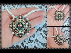 """Tutorial """" Mi chiamano Mimì """" modulo per Ciondolo Orecchini Bracciale DIY beads perline - YouTube"""