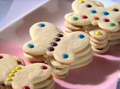 Butterfly Cookies Recipe : Sandra Lee : Food Network - FoodNetwork.com
