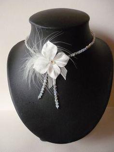 collier de mariée création Lola Framboise