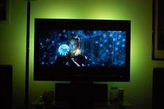 TV Back light using LED strip lights