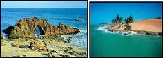 praia do nordeste do BRASIL