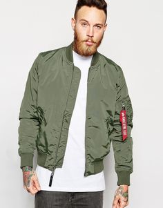 Alpha Industries MA-1 Bomber Jacket Slim Fit                                                                                                                                                     More