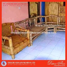 BENCH AND CHAIR SET - Tables Bamboo Furniture, bamboo furniture
