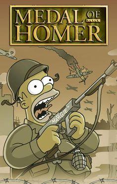 Medal of Homer.