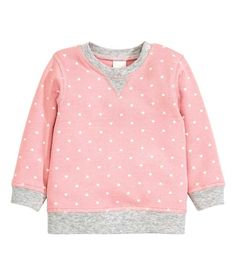 H&M organic cotton Sweatshirt with Printed Design. NOTE: not all H&M clothes are organic, nor are all of the Conscious line. Read labels. Some of the Conscious line use polyester, which is toxic.