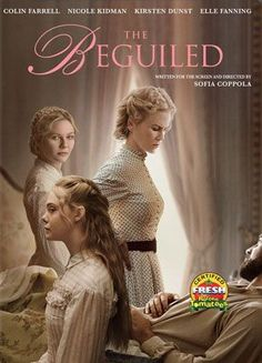 Directed by Sofia Coppola. With Nicole Kidman, Kirsten Dunst, Elle Fanning, Colin Farrell. The unexpected arrival of a wounded Union soldier at a girls school in Virginia during the American Civil War leads to jealousy and betrayal. Sofia Coppola, Colin Farrell, Nicole Kidman, Netflix Movies, Hd Movies, Movies To Watch, Movies Online, 2016 Movies, Beau Film