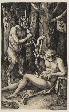 Albrecht Dürer   Satyr Family   1505