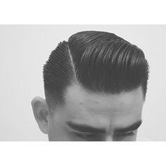 Instagram photo by layrite_gent - Conair brush for the front #ExecutiveContour#Layrite #SidePart #Contour #NaturalPart #Hair #LayritePomade #HairDo #VintageHair #Barbershop #Classic #Vintage #Gentleman #Style #Haircut #30s #40s #50s #Fade #VintageStyle #HairStyle #MensHair #Retro #MensHairstyle #InstaHair