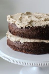 Gluten, Dairy, Soy, Nut and Egg-Free Mocha Cake
