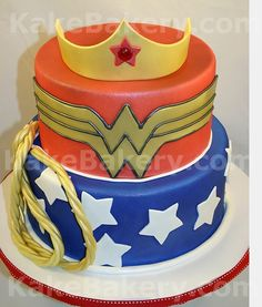 Images of tatoos of wonder woman | Birthday Cake Gallery From Kake Bakery