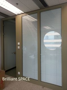 Glass System Wall 怡和大廈 (厚框雙層清玻璃屏風-內置百葉 Double Clear Glass Panel with blind) 9