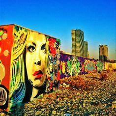 Graffiti blond