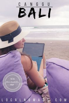 What's so great about Canggu? The vibes flowing out of Canggu are on another level of chilled out. Go to Canggu if you want to work and play in surf heaven.  Download our PDF version with bonus sections and extra good stuff, that way you can take it with you!   work and travel, remote work, location independent, Bali, Indonesia, Bali hotels, Bali food, Bali things to do, Bali travel, Bali photography
